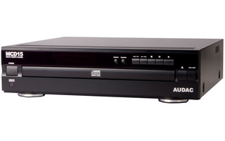Audac MCD 15 - Reproductor multiCD con MP3