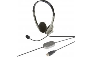 Auriculares VoIP USB 2.0 m