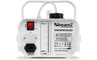 Imagenes de BeamZ Snow 900 LED