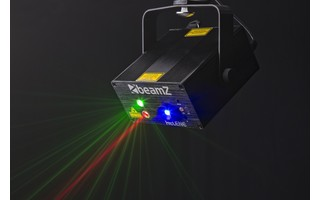 Imagenes de BeamZ Helene Doble laser RG Multi point IRC Led 3W Azul