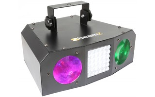 BeamZ Urano LED Doble Moonflower con Strobo