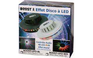 Imagenes de BoosT LED UFO Blanco 48 LEDs RVB 10mm