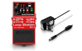 Boss RC-3 + Palmer 9V - Pack Looper
