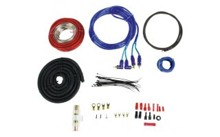 Kit De Audio Para Coche Con Conectores Anchos Djmania