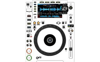 CDJ 2000 Nexus 2 Skin - White Aka Star Trooper