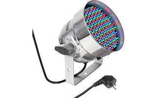 PAR Cameo 56 CAN - 151 mm x 5 LED PAR Can RGB de color Cromo