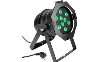 PAR Cameo 56 CAN - 9 x 3 W Color TRI LED PAR Can RGB - Negro