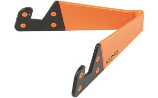 Soporte para tabletas universal plegable de color naranja