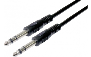 Cable Jack 6.3mm Macho a Macho Stereo 3 metros
