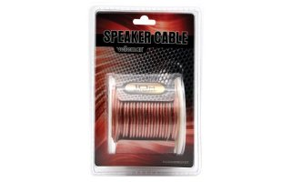 Cable altavoz - transparente - 2 x 1.50mm² - 10 metros