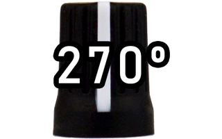 Chroma Cast Super knob 270º