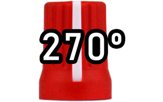 Chroma Cast Super knob 270º - Rojo
