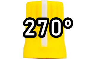 Chroma Cast Super knob 270º -  Amarillo