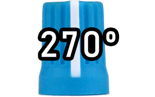 Chroma Cast Super knob 270º -  Azul