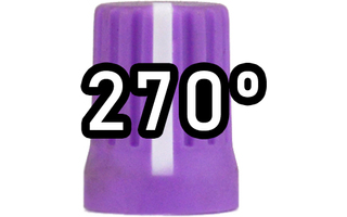 Chroma Cast Super knob 270º -  Purple