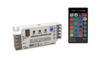Controlador LED RGB con mando a distancia - CHLSC1