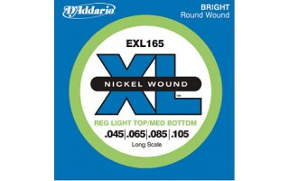 DAddario ESXL170 - XL Nickel Wound Doble Bola