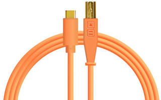 DJ TechTools Chroma Cable USB-C Naranja Neon