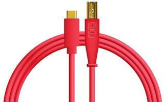 DJ TechTools Chroma Cable USB-C Rojo