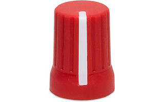 DJ Techtools Chroma Caps Super Knob 90º Rojo