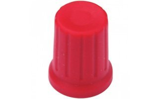 DJ TechTools Chroma Caps Thin Encoder Knob Rojo