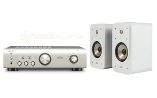 Denon PMA 520 Plata + Polk Audio S20 Blanco Invernal