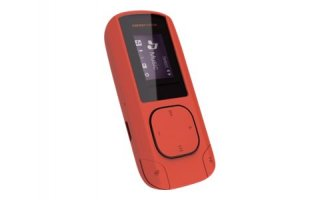 "Energy MP3 Clip - 8 Gb - LCD 0.8"" - color coral"