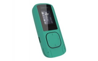 "Energy MP3 Clip - 8 Gb - LCD 0.8"" - color menta"