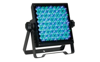 Foco LED plano - negro - 270 x 10mm LEDs