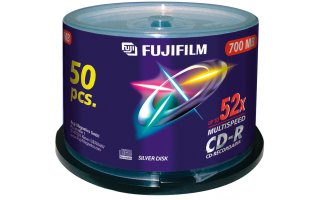 FUJIFILM CD-R 700MB / Tarrina 50 CDs