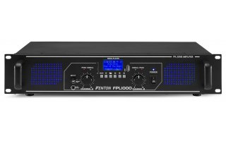 Fenton FPL 1000 Amplificador digital con Bluetooth / USB / SD / MP3 - Led Azul