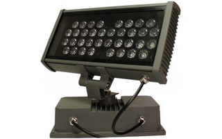 Floodlight UV LED 36W Metalico con optica - Stock B