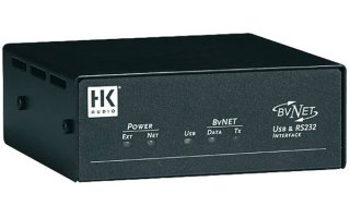HK Audio Icon BV NET USB interfaces