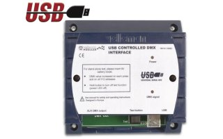 Interface DMX controlado por USB