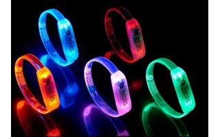 Hercules LED WristBand - Pack con 10 unidades