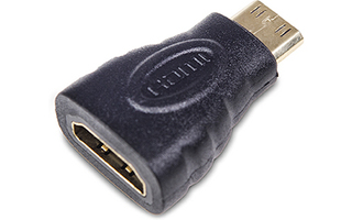 Adaptador Mini HDMI Macho-HDMI Hembra