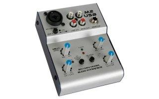 Mini mesa de mezclas audio con puerto usb djmania for Media markt mesa de mezclas