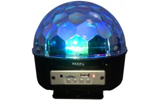 Ibiza Light Astro 4x3 RGBA LEDs + Bateria recargable + Bluetooth