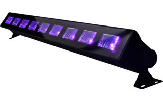 Imagenes de Ibiza Light Bar LED UV - Luz negra 9 x 3 W