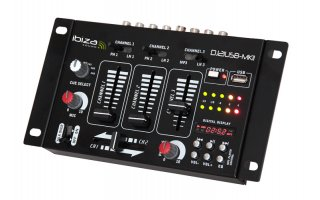 Ibiza Sound DJ21USB MKII - Reproductor USB & MP3