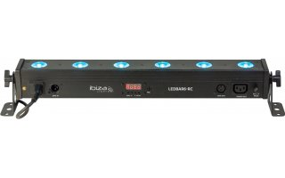 Ibiza Light LED BAR 6 RC