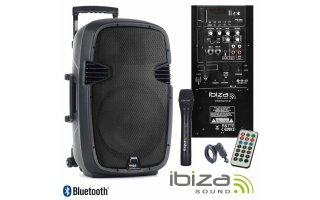 Ibiza Sound Hybrid 10 VHF Bluetooth
