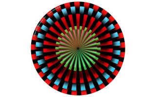 Slipmats Pinwheel 1 Twin Pack
