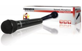 Uni-directional dynamic microphone
