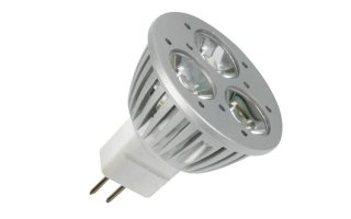 BOMBILLA LED 5W - 12V CA/CC - MR16 - BLANCO CÁLIDO (2700K)