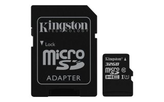 Kingston 32GB microSDHC Class 10 UHS-I
