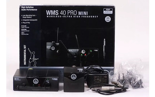 AKG WMS 40 PRO MINI Instrumental Set  863.100mhz ISM1 - Stock B