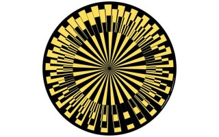 Slipmats Scope yellow Twin Pack