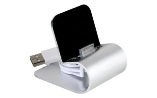 Estación de carga USB para iPhone y iPod