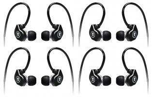 Mackie CR-Buds+ Plus - SET de 4 Auriculares In Ear para músicos